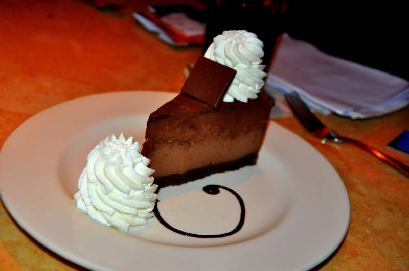 Dining at the CheeseCake Factory