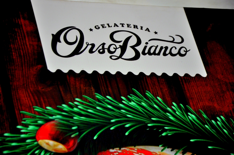Beware the White Bear… Orso Bianco Gelateria
