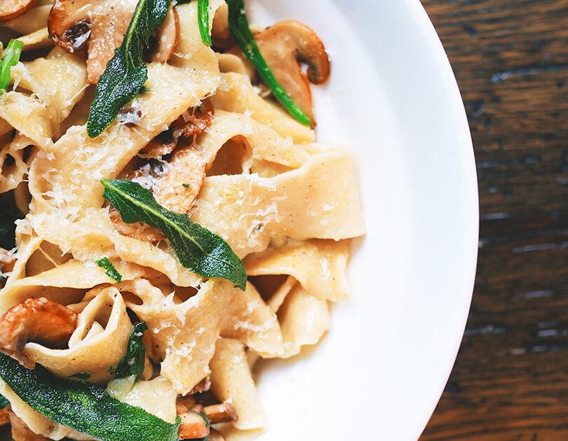 Creamy Mushroom Pasta